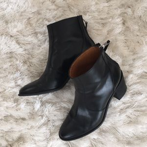 Madewell zip back Billie boot